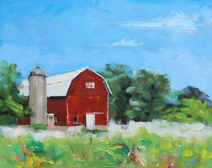Carrie Griesemer Oil Painting